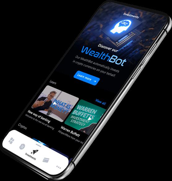 Le wealthBot d'AKT.io permet des investissements automatiques sur les meilleurs actifs du marché