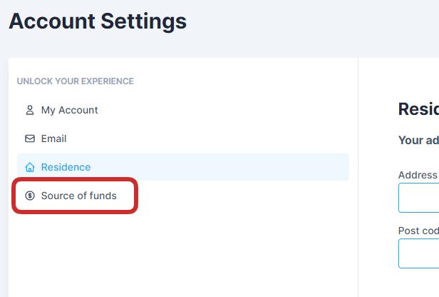 Provenance des fond investis sur Akt.io