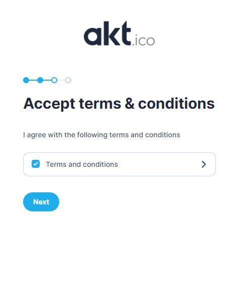 Termes et conditions AKT.io